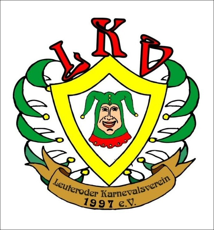 Emblem des Leuteroder Karnevalvereins 1997 e.V