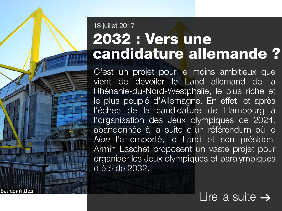 Allemagne, 2032, candidature