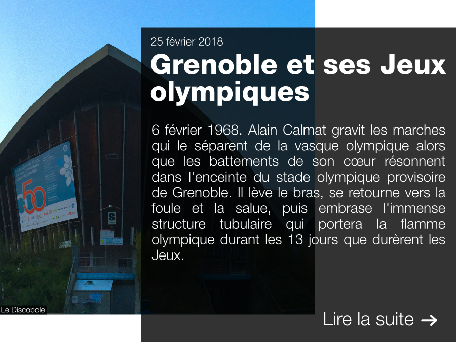 Grenoble, 1968, Jeux olympiques, Héritage, Exposition, 50 ans