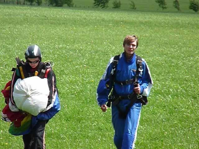 Jannis Riebschläger Jannis' Life Fallschirmspringen