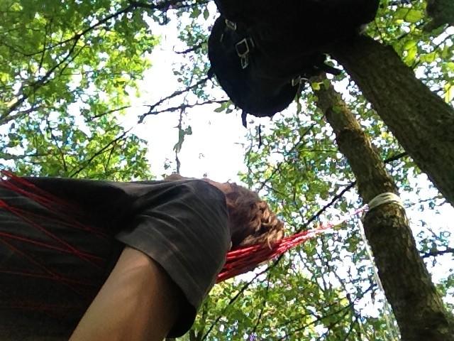 Nylon Hängematte ultraleicht Wald