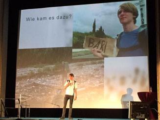 Digitale Nomaden DNX Jannis Riebschläger Rede Selfpublishing