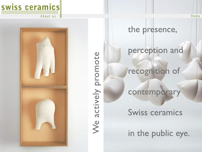Commercial CD-Rom for Swiss Ceramics