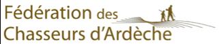 logo fédération de chasseurs de l'Ardèche