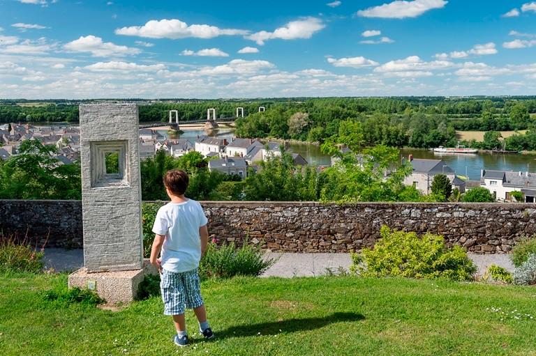 Panorama depuis l'église de Montjean sur Loire, © Dominique Drouet