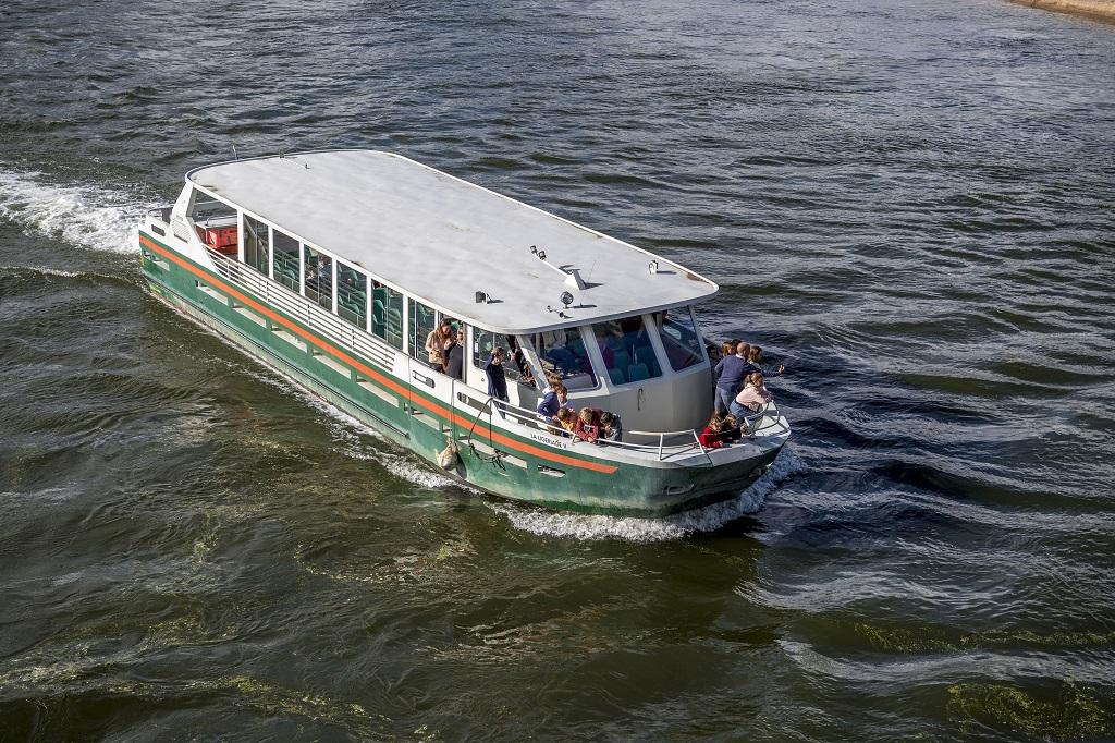 La Ligériade II, un bateau d'une capacitité maximum de 75 passagers, © Dominique Drouet