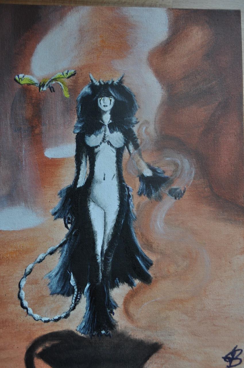 """Illustration aus ihrem Buch : """"Herrscher der Wüste"""""""