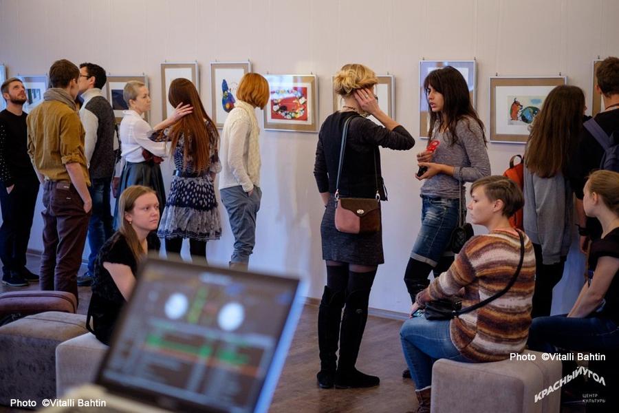 2013年10月ヴォログダ(ロシア)個展