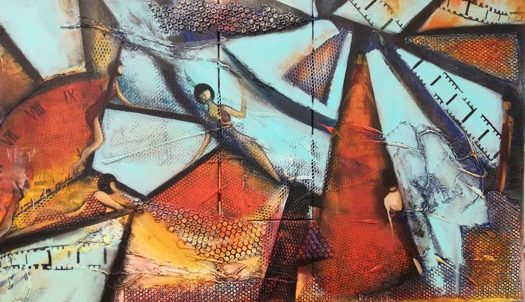 acrylique de Cathy FRANCISCO