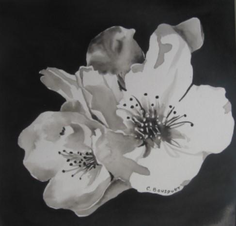 """Claudie BOUSQUET """"Fleurs d'amandier"""""""