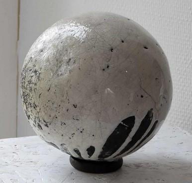 "Anne BOUTET ""Planète insolite"" poterie raku"