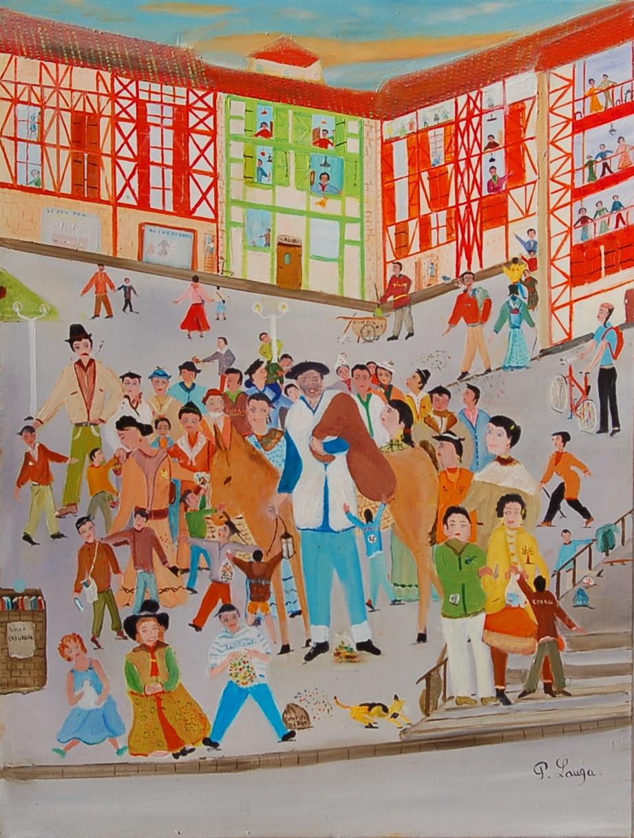 """Olentzero """"Carnaval au pays basque"""" Patrick LAUGA"""