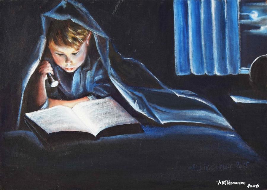 """""""Secret d'une passion"""" Anne Marie PENAMEN huile 46x33"""