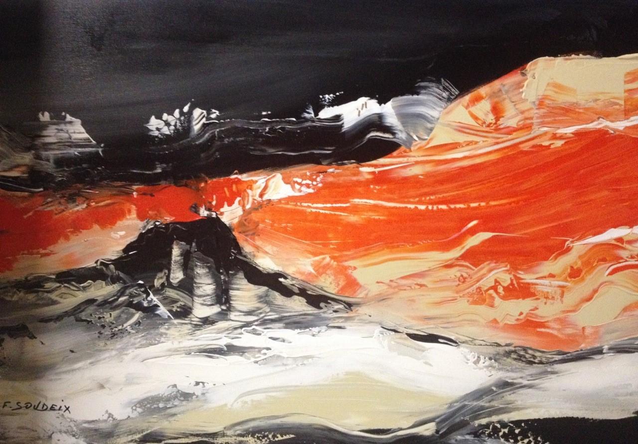 "Françoise SOUDEIX ""Volcan"""