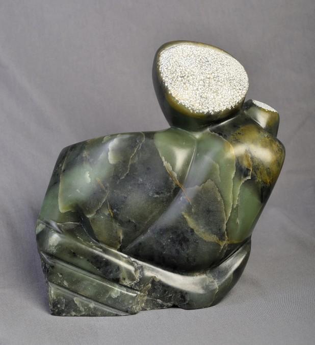"""""""La mère et l'enfant"""" Brigitte COTTINEAU sculpture"""