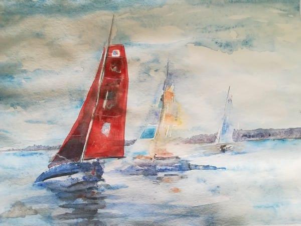 aquarelle de Cathy FRANCISCO