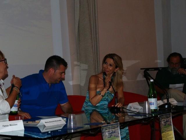 Intervento del Sindaco Alessandro Delpriori e dell'Assessore alla cultura e turismo Cinzia Pennesi