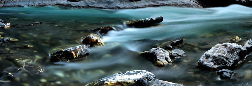 Rivière Ubaye - Photographie Patrick Boit