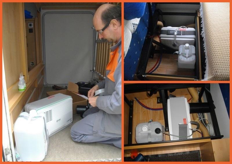 Fourniture et installation de pile à combustible