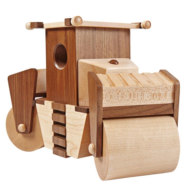 Steam Roller Plan Parts From Wood Magazine Schlabaugh Sons