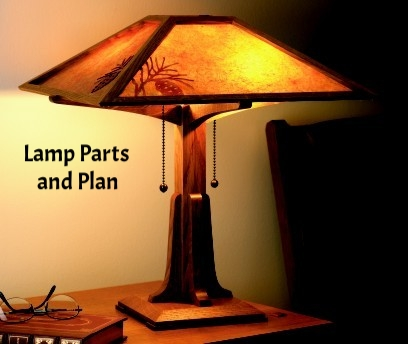 WOOD Magazine Lamp Plan & Parts