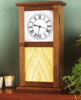 Shaker Clock Plan Amp Parts Schlabaugh Amp Sons