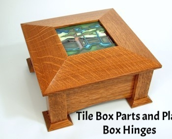 WOOD Magazine Tile Box Plan & Parts