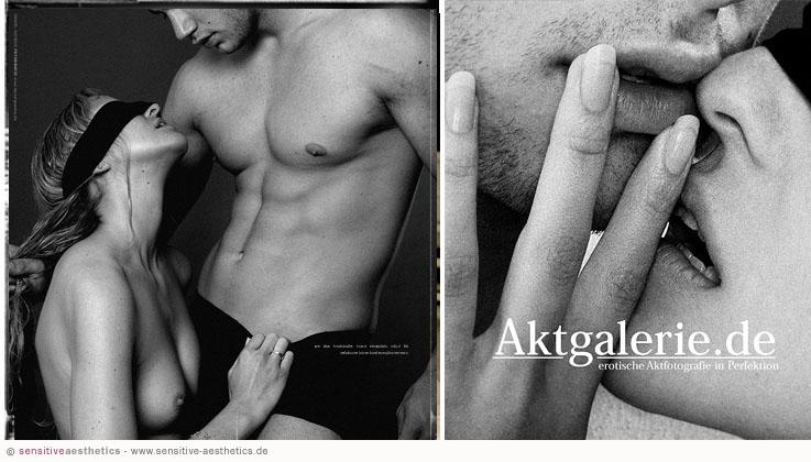 Erotisches Paare Fotoshooting fr verliebte Prchen in
