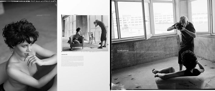 Making Of vom Akt Fotoshooting in einer Fabrikhalle bei Hannover