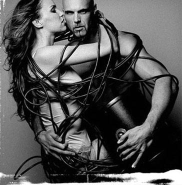 Kreative Paarfotos in erotischer Pose vom Aktfotografen in Hannover und Düsseldorf