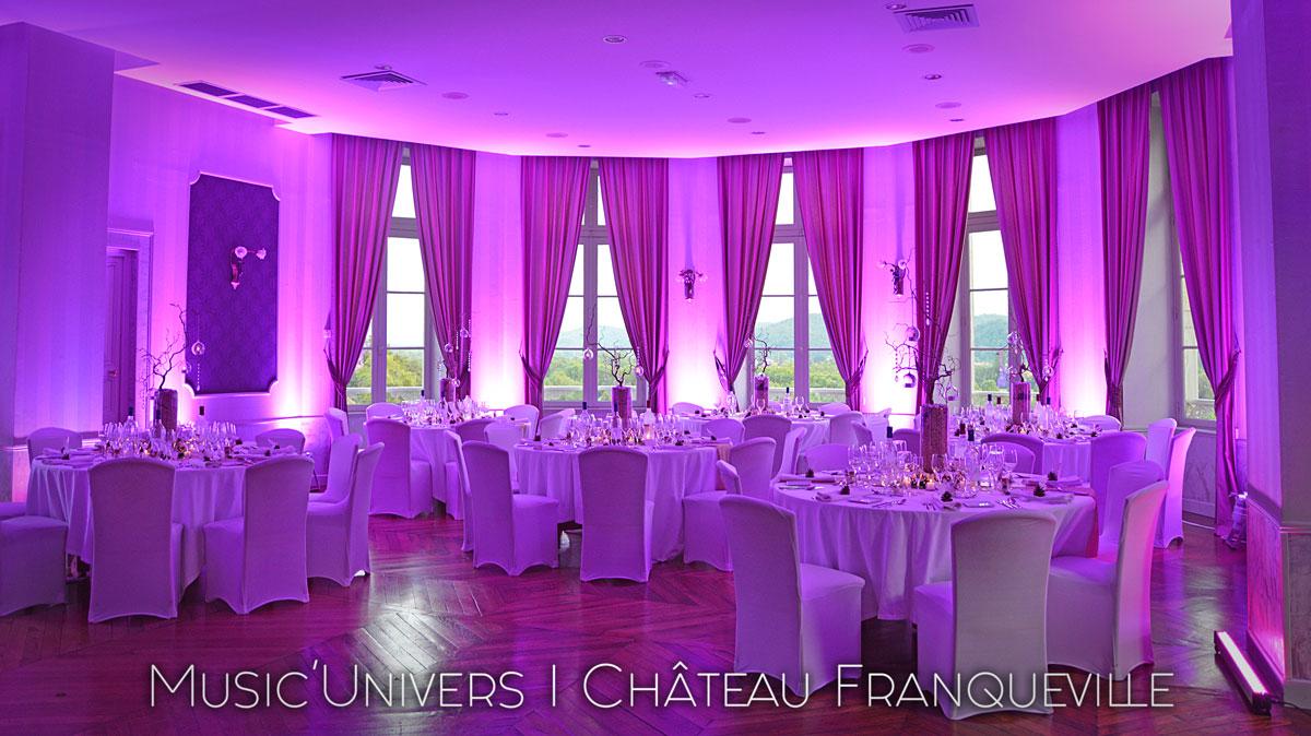 Mise en Lumière Au Château de Franqueville (Pau)