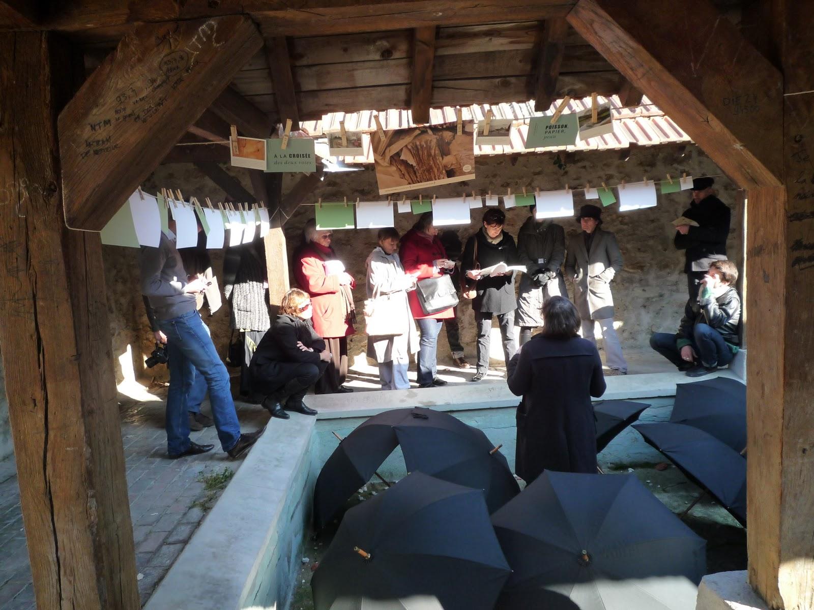 21 octobre 2011 : Restitution des Petites histoires de Coulommiers écrites par Maïda Chandèze-Avakian à Coulommiers