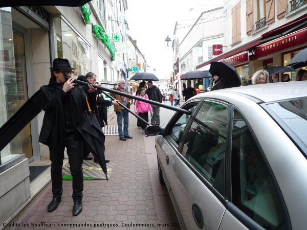 18 mars 2011 : Souffles dans les rues piétonnes de Coulommiers