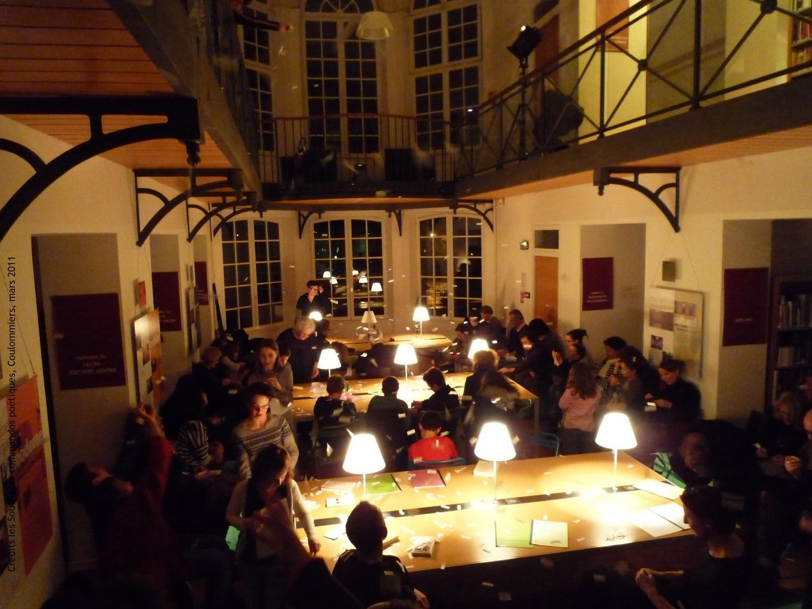 18 mars 2011 : Nuit de la poésie à Coulommiers