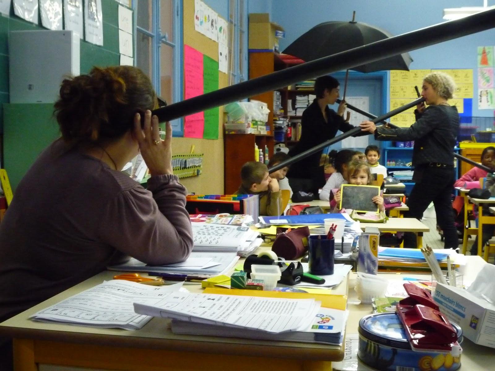 09 décembre 2011 : Pratiques de l'effraction de la parole, école élémentaire Louis Robert