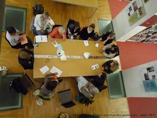 05 octobre 2011 : Lancement des Poétiques Sentinelles à Coulommiers