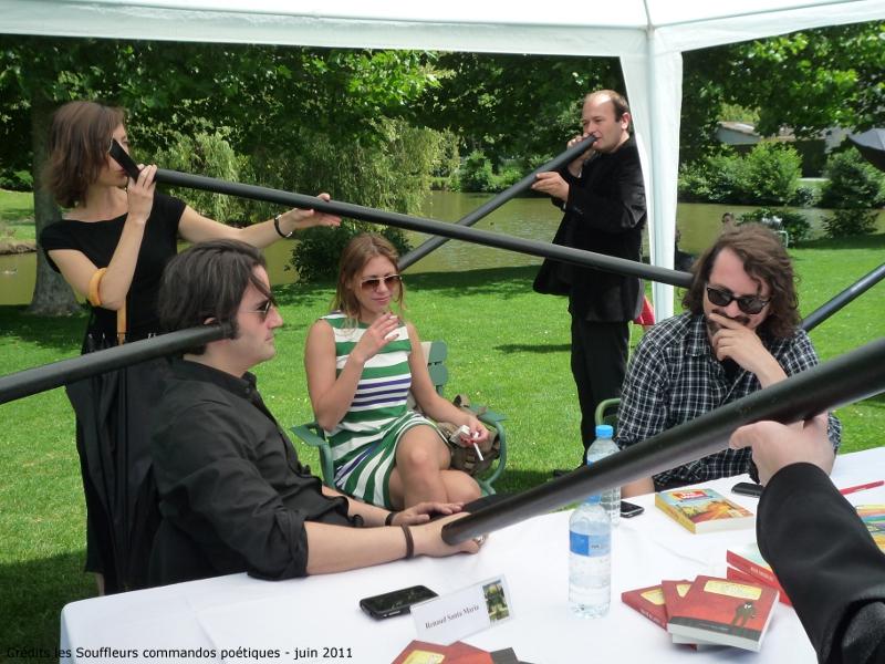 25 juin 2011 : Souffles pour le 1er Salon du livre à Coulommiers