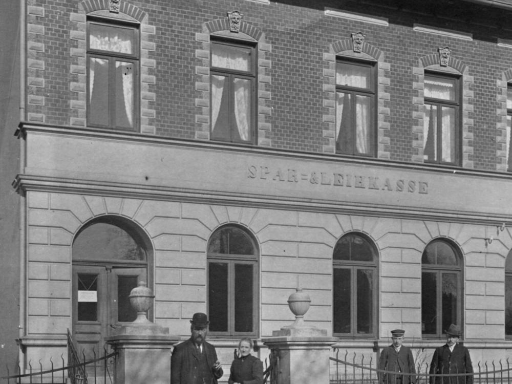 Postrasse 3 um 1900    Bild-Quelle Amtsarchiv Trittau