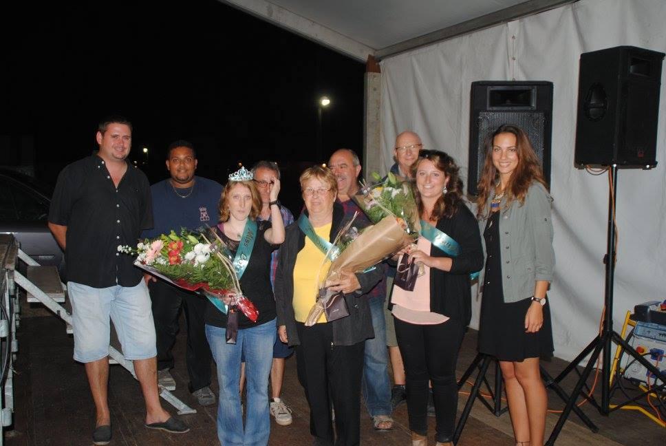 les 3 miss loto 2016 avec la présence de Vivian, Didier, Francis, José, Malaury Eugénie et Jérôme