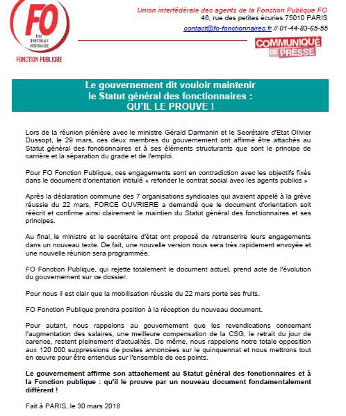 a8f7c721a45 Vous trouverez ci-dessous la 2ème version du document d orientation  intitulé « refonder le contrat social avec les agents publics ».