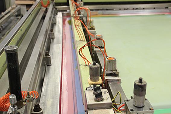 Sias Multiforma Siebdruckmaschine