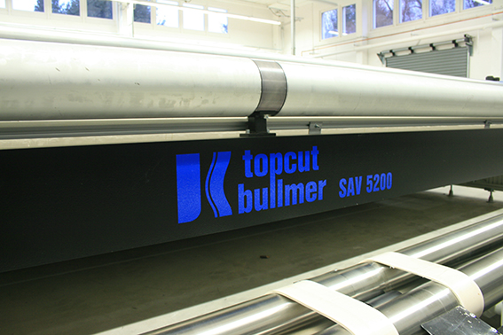 topcut bullmer CAD-Schneideanlage