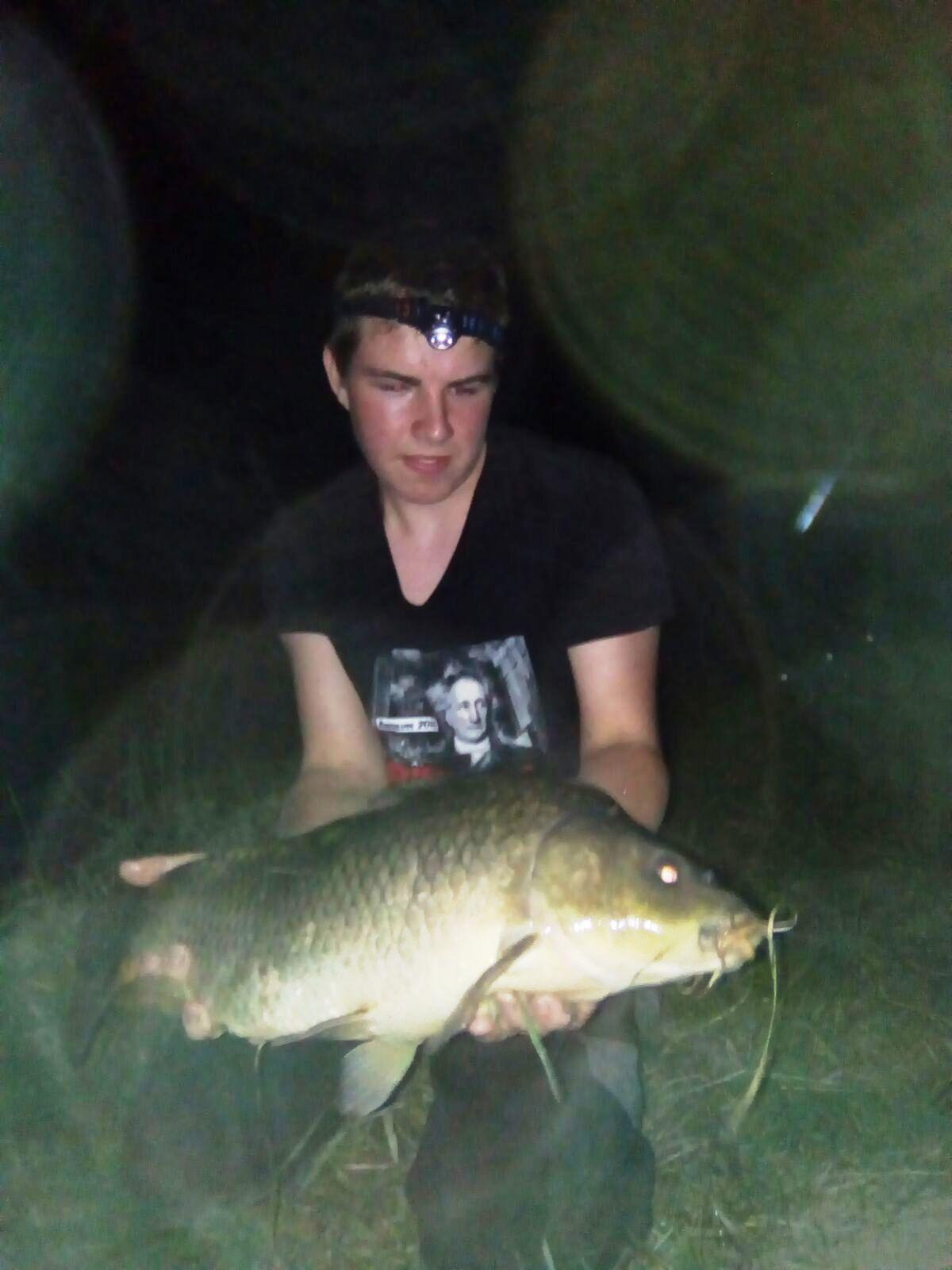 Karpfen, 15 Pfund, 68 cm