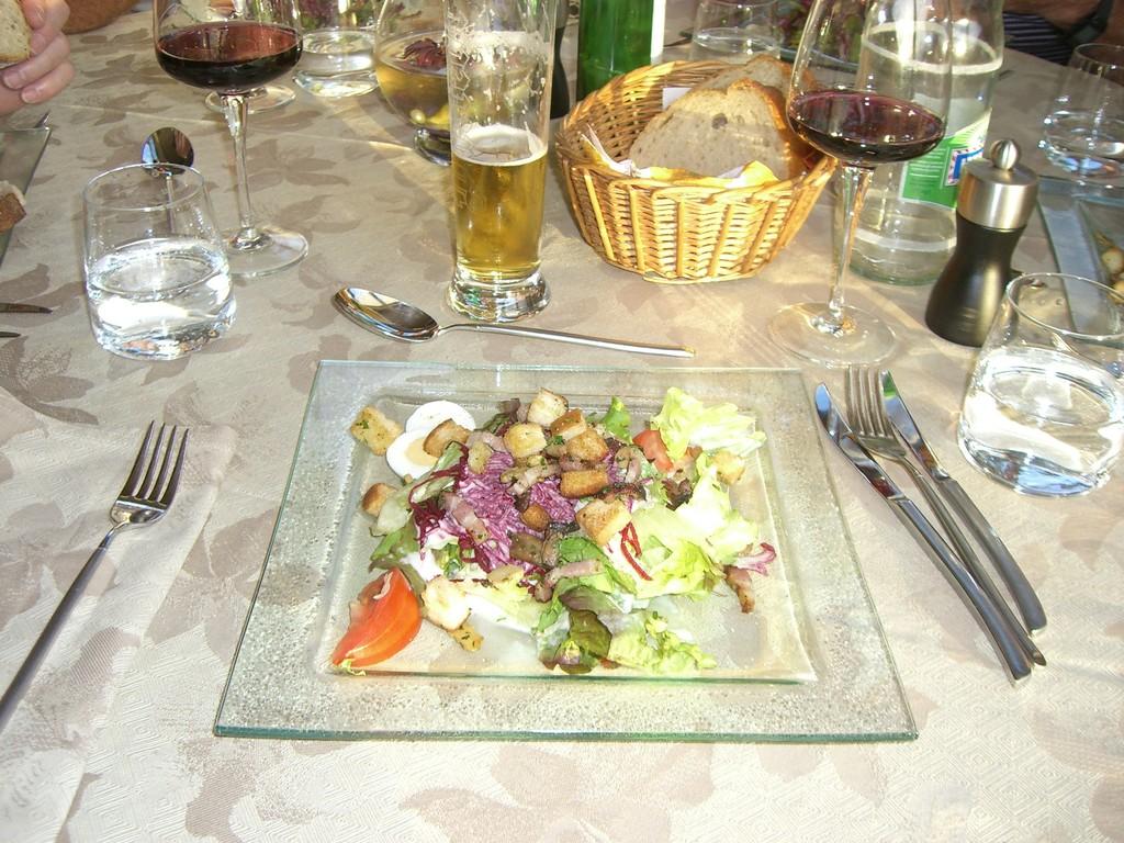 unser Dinner