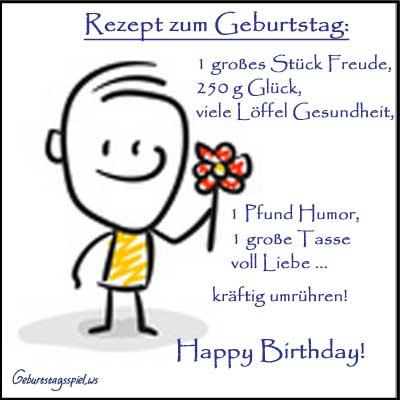 Geburtstagswünsche für Glückwünsche