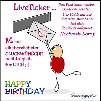 Geburtstagsbilder mit Glückwünschen Geburtstag vergessen