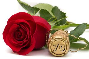 Spruch zum 70. Geburtstag