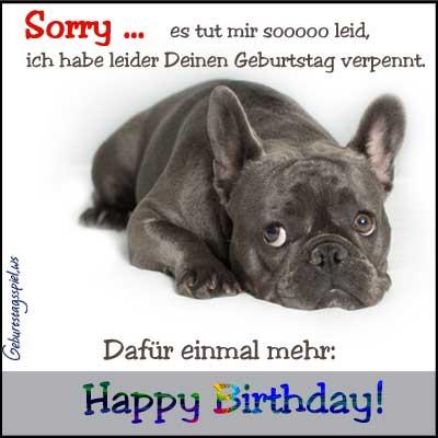 Deinen geburtstag vergessen ich habe Geburtstag vergessen: