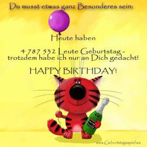 Digitale Glückwünsche zum Geburtstag 20