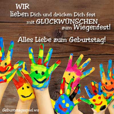 Geburtstagsbilder für Grüße Handy Kind